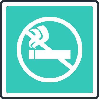 Habitaciones para no fumadores