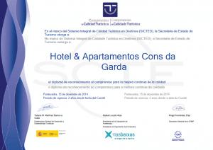 certificado sicted hotel cons da garda