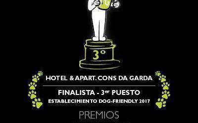 El Hotel Cons da Garda recibe el 3º premio como Mejor Establecimiento Pet Friendly otorgado por Travelguau